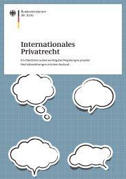 Internationales Privatrecht - Bundesministerium der Justiz