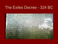 The Exiles Decree
