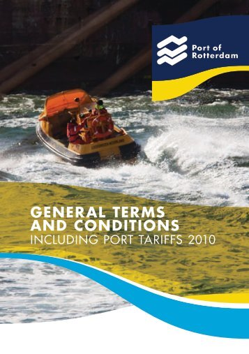 GENERAL TERMS AND CONDITIONS - GAC