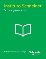 Catálogo de cursos Instituto Schneider - Schneider Electric
