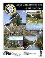 2030 Comprehensive Land Use Plan - Pitt County Government
