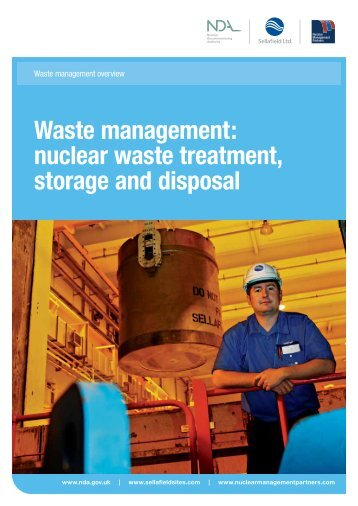 Waste management: nuclear waste treatment ... - Sellafield Ltd
