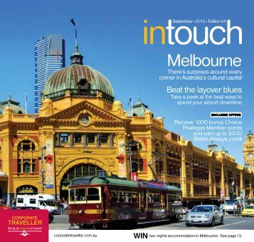 Corporate Traveller Intouch September 2013