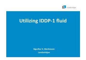 Utilizing IDDP-1 fluid - Georg