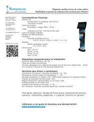 Dossier máquina loterías KP1.pdf - Máquinas De Loterías