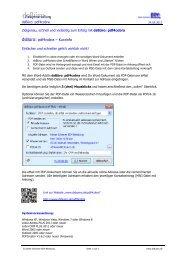 Kurzinfo pdf4cobra - Dieter Schirmer, EDV-Beratung