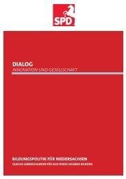 Dialogpapier Gute Bildung - Entdecke Niedersachsen