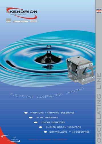 oscillating line - Kendrion Binder