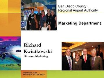 Richard Kwiatkowski - San Diego International Airport