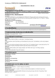 Leverandørbrugsanvisning Klæbemørtel - Fermacell