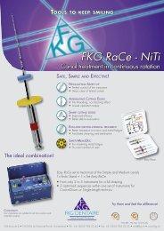 FKG RaCe - NiTi - Endodonzia Dr. Mauro Venturi Home