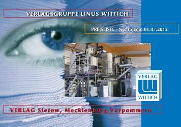 VERLAGSGRUPPE LINUS WITTICH VERLAG Sietow, Mecklenburg ...