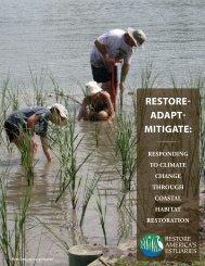 RestoRe- AdApt- MitigAte: - America's Wetland