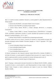 Hotarare 10_15_03_2012.pdf - Institutul Naţional al Magistraturii