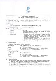 PT Perusahaan Gas Negara (Persero) Tbk SBU Distribusi ... - PGN