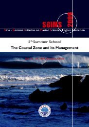 The Coastal Zone and its Management - Ocean University of China