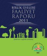 faaliyetler - Türkiye Sağlıklı Kentler Birliği