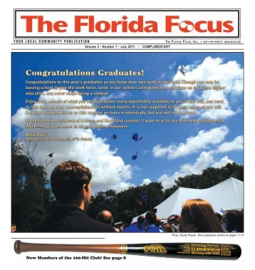 New Members of the 100-Hit Club! See page 8 - The Florida Focus