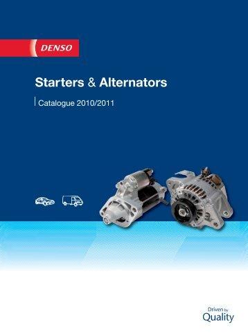 Starters & Alternators - ремонт стартеров и генераторов