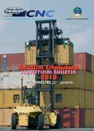 CNC_Boletim Estatístico de 2010 - 2º Trimestre (alta ... - CNC Angola