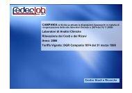 Clicca qui per visualizzare la Relazione dell'Ufficio ... - FederLab Italia