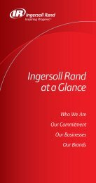 Ingersoll Rand At-A-Glance