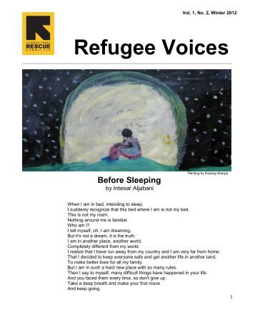 Refugee Voices II - International Rescue Committee