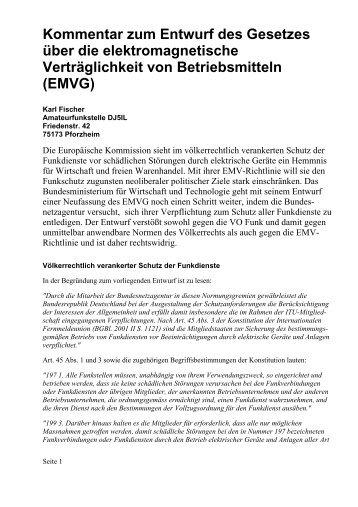 EMVG - Funkamateur