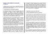Annexe 1 - Normalisation et construction européenne - cgedd