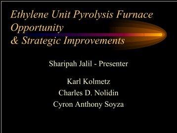 Ethylene Unit Pyrolysis Furnace Opportunity & Strategic Improvements