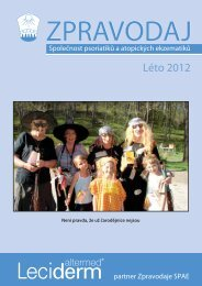 Léto 2012 - Česká Akademie dermatovenerologie
