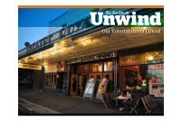 Unwind – Short Credentials - Fairfax Media Adcentre
