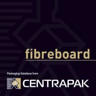 Cardboard Products - Centrapak