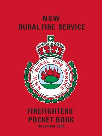nsw rural fire service firefighters' pocket book - The Bega Valley