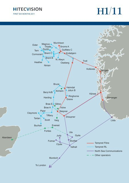 Lista Aberdeen Troll Gullfaks C Snorre A Oseberg Kollsnes Bergen ...