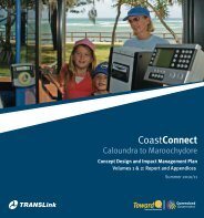 Concept Design and Impact Management Plan - Department of ...