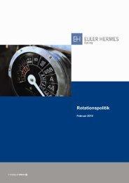 Rotationspolitik - Euler Hermes Rating Deutschland GmbH