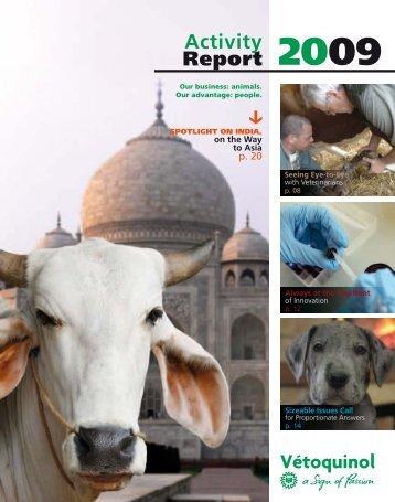 2009 Activity Report - Vétoquinol