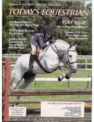 Today's Equestrian - September 2011 - Phelps Media Group