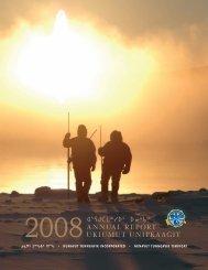 NTI Annual Report 2008 - Nunavut Tunngavik Inc.