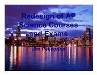 NRC AP Redesign PellegrinoFINAL - The National Academies