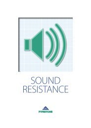 SOUND RESISTANCE - Aggregate Industries