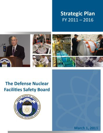 The Defense Nuclear Facilities Safety Board - Strategic Plan: FY ...