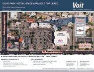 Flyer - Voit Real Estate Services