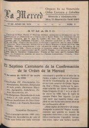 e l Séptimo Centenario de la Confirmación de la Orden de ... - OdeMIH