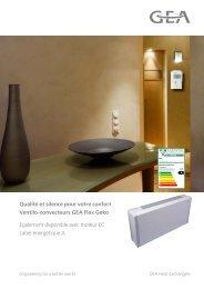 Brochure commerciale Flex Geko - GEA Happel Belgium