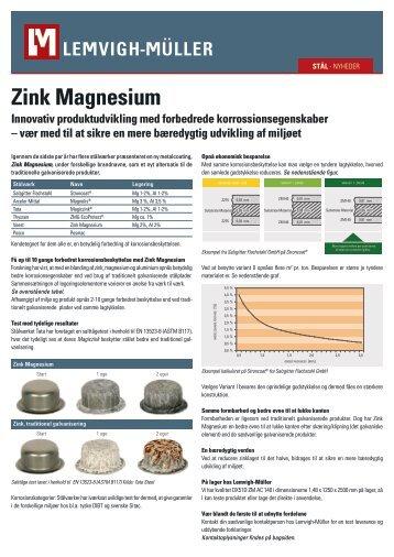 Zink Magnesium - Lemvigh-Müller
