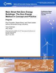 Main Street Net-Zero Energy Buildings: The Zero Energy ... - NREL