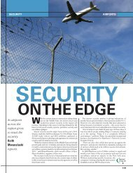 As airports across the region grow, so must the security. Keith ...
