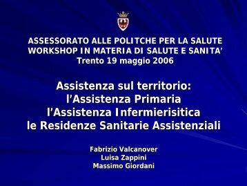 ASSEMBLEA ANNUALE 2004 - Trentino Salute